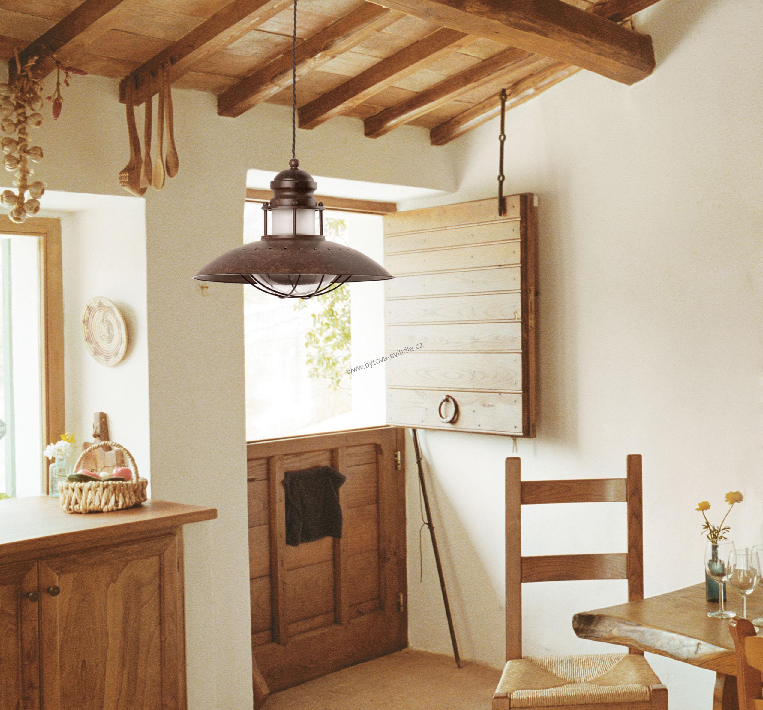 Faro 66204 winch retro z v sn lampa - Lamparas para cocinas rusticas ...
