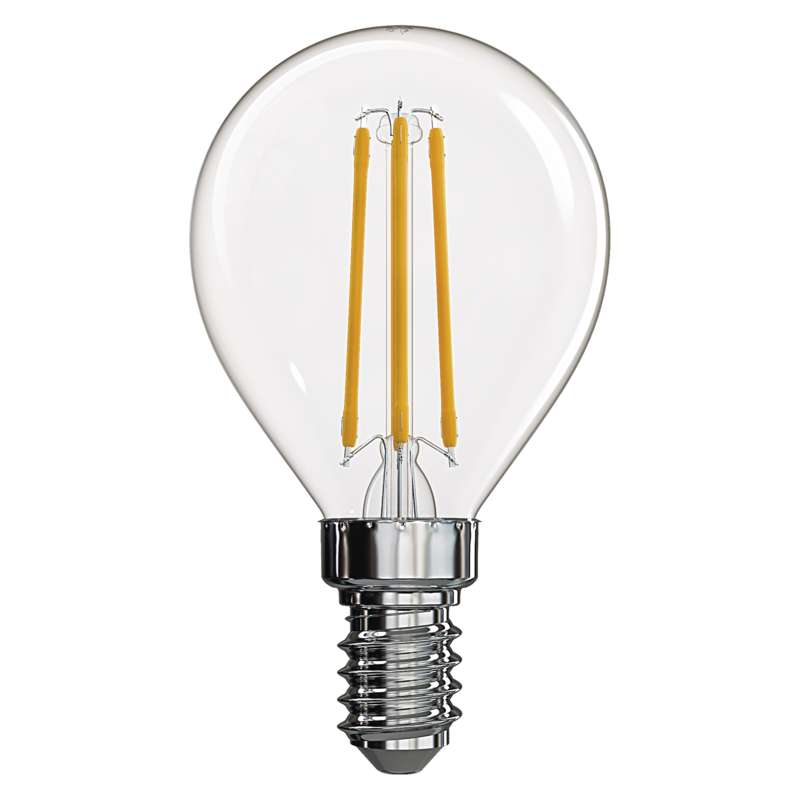 EMOS Z74230 CRYSTAL RETRO - Retro LED E14 žárovka 4W = 40W, A++, LED filament