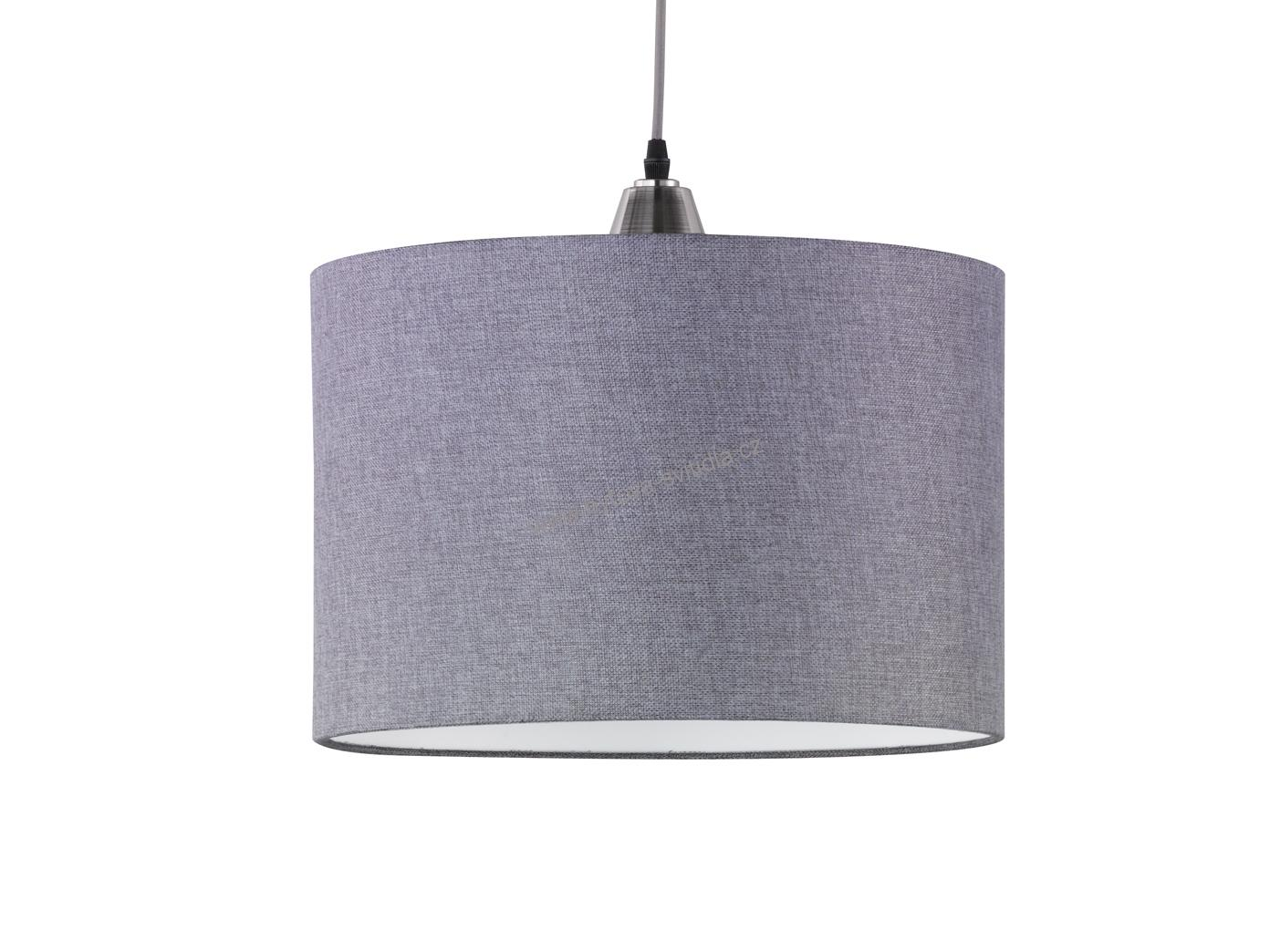 trio 306500107 cosinus modern textiln lustr ed 40cm. Black Bedroom Furniture Sets. Home Design Ideas